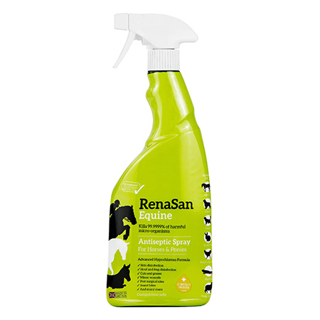 RenaSan Equine Antiseptic Spray 750ml